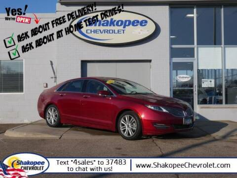 2016 Lincoln MKZ Hybrid for sale at SHAKOPEE CHEVROLET in Shakopee MN