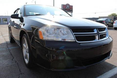 2013 Dodge Avenger for sale at B & B Car Co Inc. in Clinton Twp MI