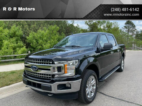 2020 Ford F-150 for sale at R & R Motors in Waterford MI