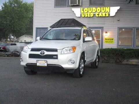 2009 Toyota RAV4 for sale at Loudoun Used Cars in Leesburg VA