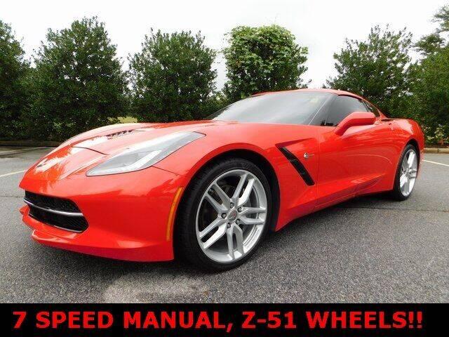 2016 Chevrolet Corvette for sale at Redline Performance group LLC in Douglasville GA