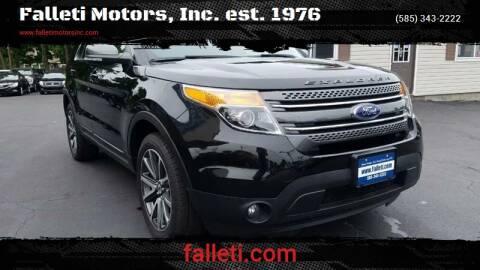 2015 Ford Explorer for sale at Falleti Motors, Inc.  est. 1976 in Batavia NY