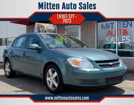 2010 Chevrolet Cobalt for sale at Mitten Auto Sales in Holland MI