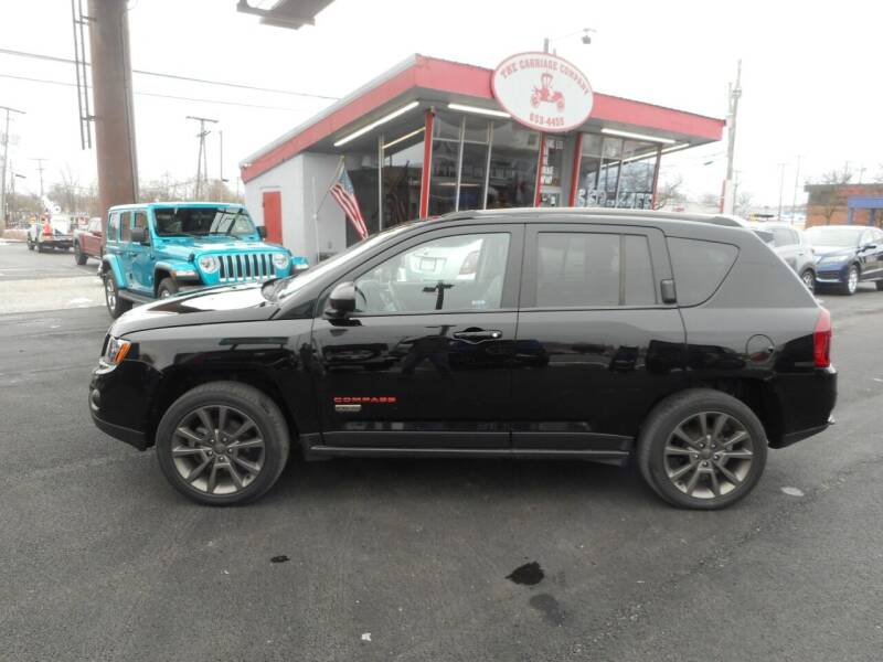 2017 Jeep Compass for sale at The Carriage Company in Lancaster OH