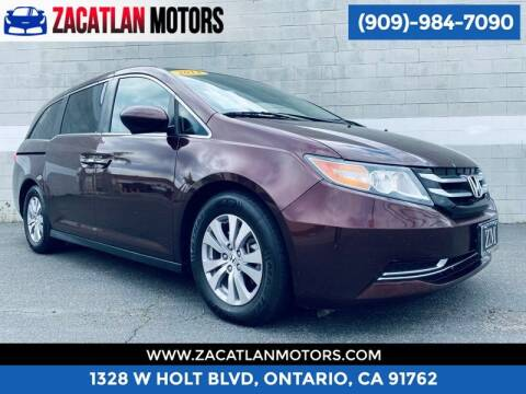 2014 Honda Odyssey for sale at Ontario Auto Square in Ontario CA