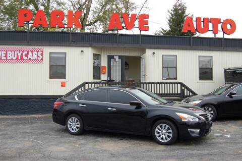 2013 Nissan Altima for sale at Park Ave Auto Inc. in Worcester MA