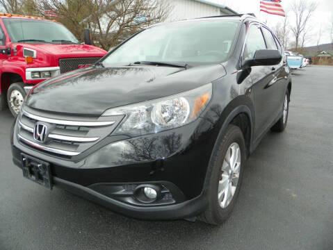 2012 Honda CR-V for sale at Ed Davis LTD in Poughquag NY