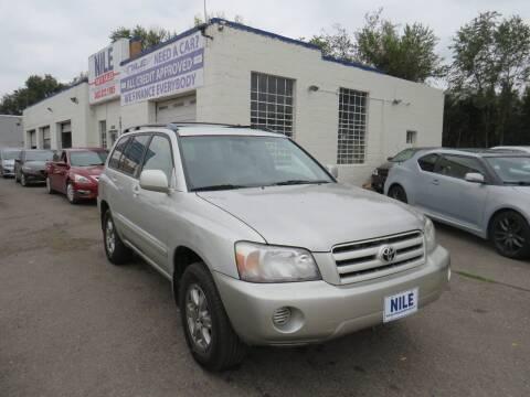 2005 Toyota Highlander for sale at Nile Auto Sales in Denver CO