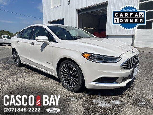 2018 Ford Fusion Hybrid for sale in Yarmouth, ME