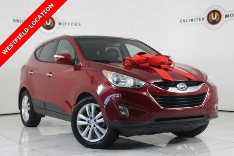 2013 Hyundai Tucson for sale at INDY'S UNLIMITED MOTORS - UNLIMITED MOTORS in Westfield IN