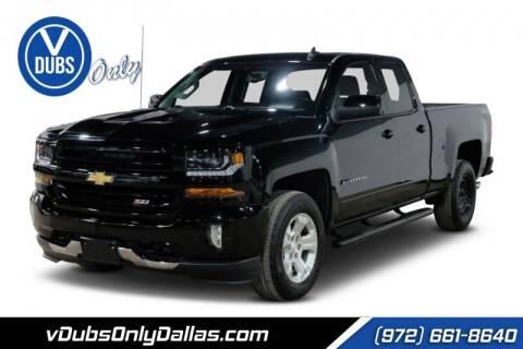 2017 Chevrolet Silverado 1500 for sale at VDUBS ONLY in Dallas TX