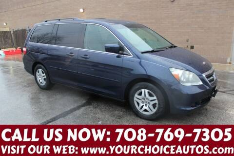 2007 Honda Odyssey for sale at Your Choice Autos in Posen IL