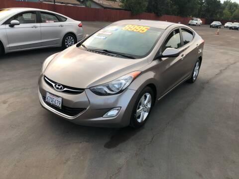 2012 Hyundai Elantra for sale at Mega Motors Inc. in Stockton CA