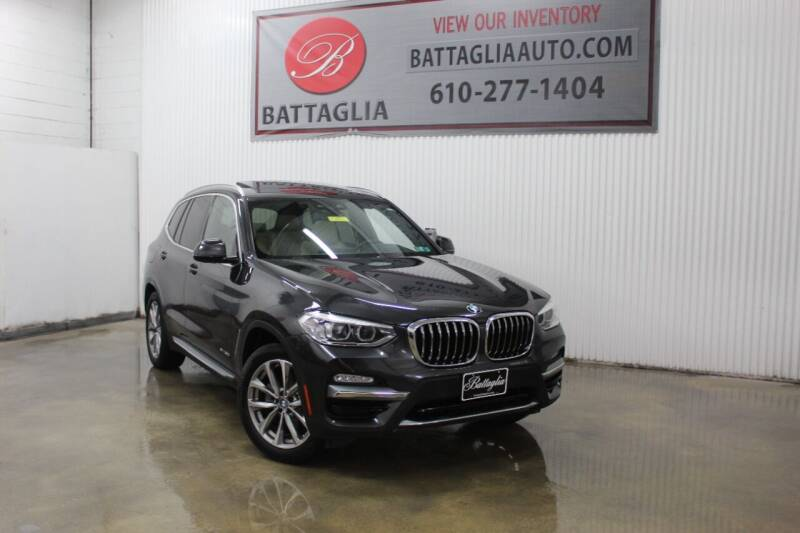 2018 BMW X3 for sale at Battaglia Auto Sales in Plymouth Meeting PA