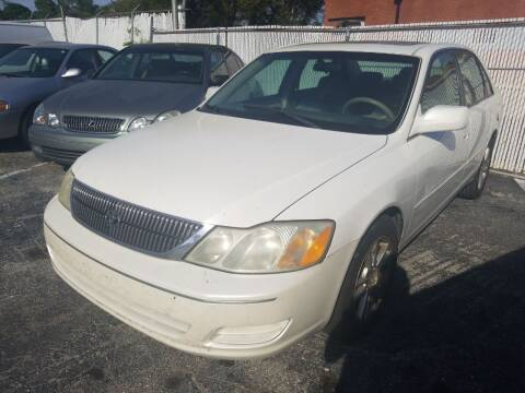 2002 Toyota Avalon for sale at Castle Used Cars in Jacksonville FL
