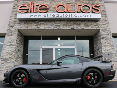 2010 Dodge Viper for sale at Elite Autos LLC in Jonesboro AR