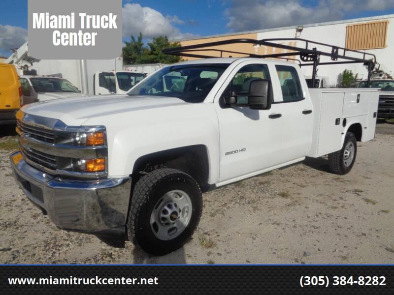 2017 Chevrolet Silverado 2500HD for sale at Miami Truck Center in Hialeah FL