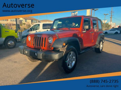 2011 Jeep Wrangler Unlimited for sale at Autoverse in La Habra CA