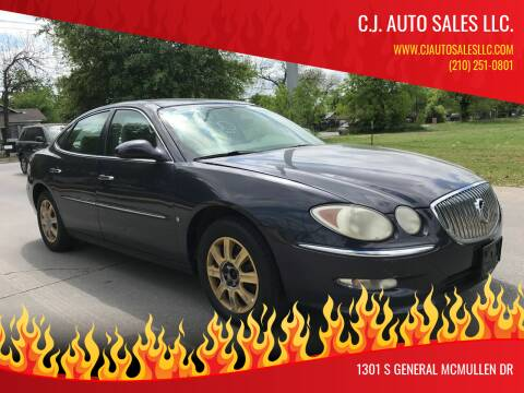 2008 Buick LaCrosse for sale at C.J. AUTO SALES llc. in San Antonio TX