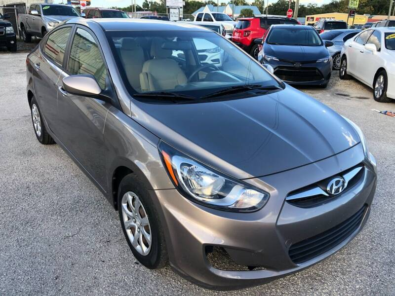 2013 Hyundai Accent for sale at Marvin Motors in Kissimmee FL
