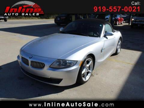 2007 BMW Z4 for sale at Inline Auto Sales in Fuquay Varina NC