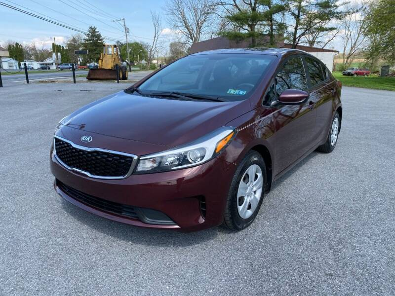 2017 Kia Forte for sale at M4 Motorsports in Kutztown PA