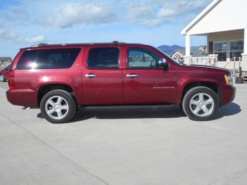 2008 Chevrolet Suburban for sale at Central City Auto West in Lewistown MT