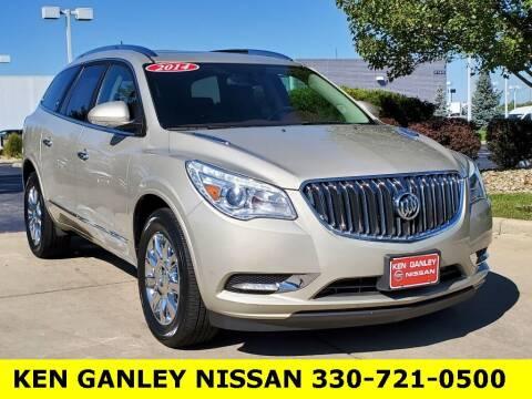 2014 Buick Enclave for sale at Ken Ganley Nissan in Medina OH
