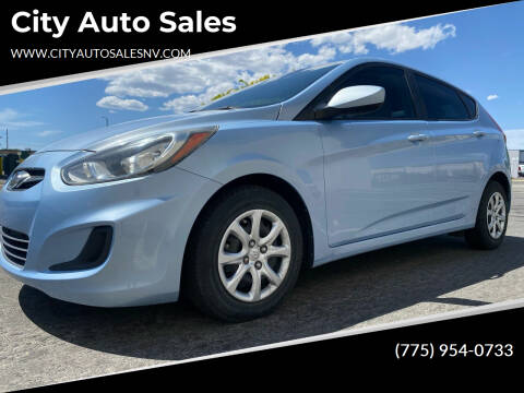 2014 Hyundai Accent for sale at City Auto Sales in Sparks NV