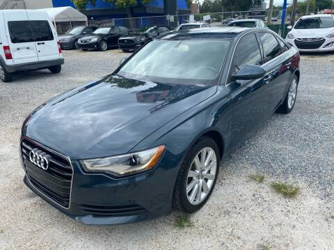 2013 Audi A6 for sale at Velocity Autos in Winter Park FL