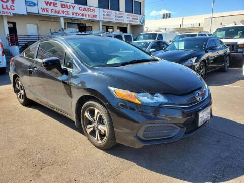 2015 Honda Civic for sale at Convoy Motors LLC in National City CA