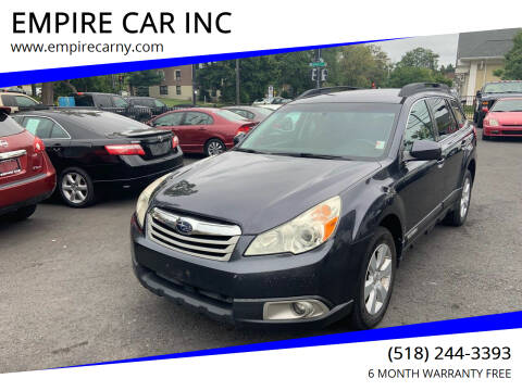 2010 Subaru Outback for sale at EMPIRE CAR INC in Troy NY
