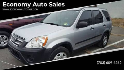2006 Honda CR-V for sale at Economy Auto Sales in Dumfries VA
