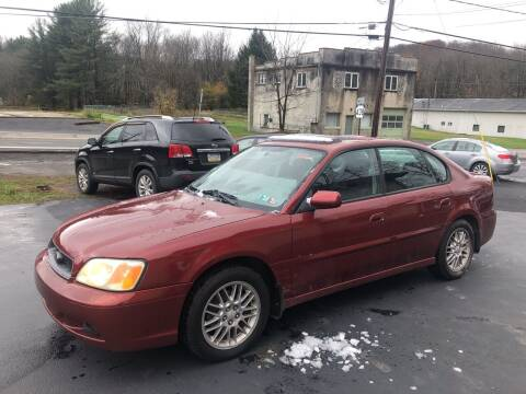 2002 Subaru Legacy for sale at Edward's Motors in Scott Township PA