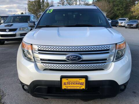 2013 Ford Explorer for sale at East Carolina Auto Exchange in Greenville NC