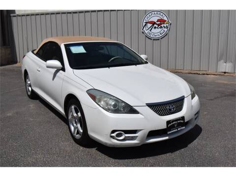 2007 Toyota Camry Solara for sale at Chaparral Motors in Lubbock TX