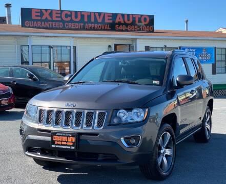 2017 Jeep Compass for sale at Executive Auto in Winchester VA