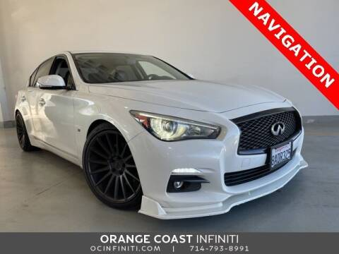 2014 Infiniti Q50 for sale at ORANGE COAST CARS in Westminster CA