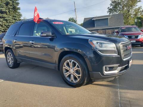 2014 GMC Acadia for sale at Triangle Auto Sales in Omaha NE