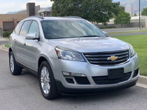 2015 Chevrolet Traverse for sale at A.I. Monroe Auto Sales in Bountiful UT