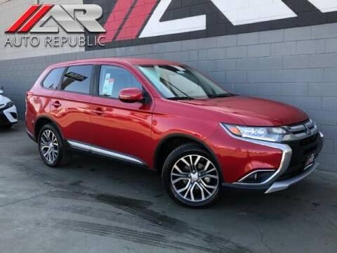 2018 Mitsubishi Outlander for sale at Auto Republic Fullerton in Fullerton CA