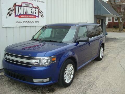 2014 Ford Flex for sale at Team Knipmeyer in Beardstown IL