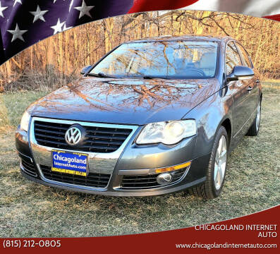 2009 Volkswagen Passat for sale at Chicagoland Internet Auto - 410 N Vine St New Lenox IL, 60451 in New Lenox IL