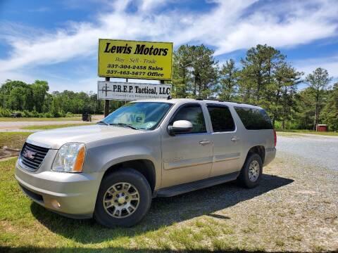 2007 GMC Yukon XL for sale at Lewis Motors LLC in Deridder LA