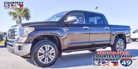 2018 Toyota Tundra for sale at Courtesy Value Pre-Owned I-49 in Lafayette LA