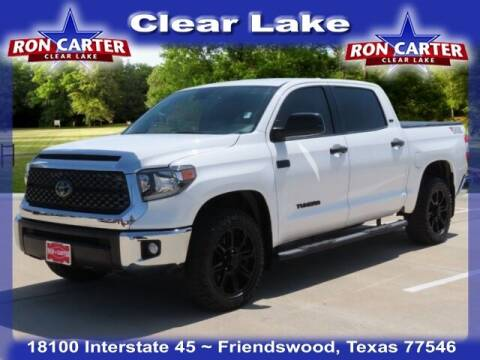 2020 Toyota Tundra for sale at Ron Carter  Clear Lake Used Cars in Houston TX