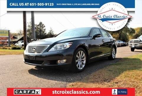2011 Lexus LS 460 for sale at St. Croix Classics in Lakeland MN