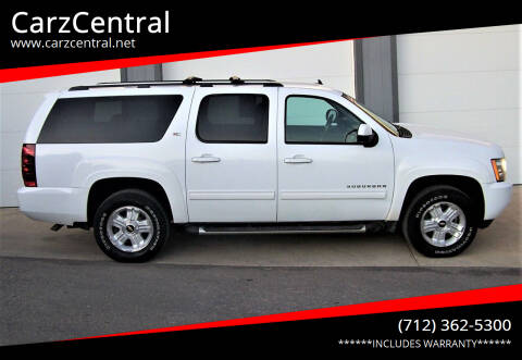 2011 Chevrolet Suburban for sale at CarzCentral in Estherville IA