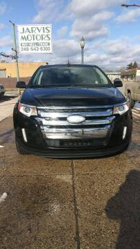 2012 Ford Edge for sale at Jarvis Motors in Hazel Park MI