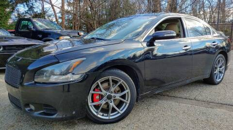 2009 Nissan Maxima for sale at CRS 1 LLC in Lakewood NJ